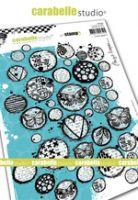 Cling Stamp A5 : Circles galore by Birgit Koopsen and Carabelle Studio (sa50039)
