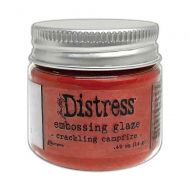 Crackling Campfire Embossing Glaze (TDE73833)