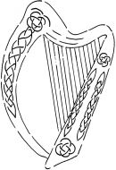 Crafty Stamps - Celtic Harp - CT180HF