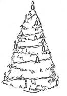 Crafty Stamps - Christmas Tree- XM103M