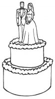 Crafty Stamps - Wedding Cake - WD153EI