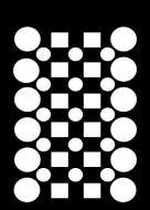 Checker Board Mini Stencil - Creative Expressions