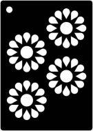 Daisy Wheel Mini Stencil - Creative Expressions