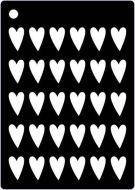 Heart Mini Stencil - Creative Expressions