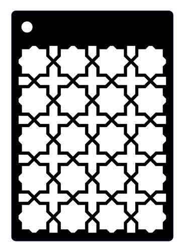 Ornate Trellis Mini Stencil - Creative Expressions