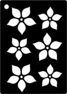 Poinsetta Mini Stencil - Creative Expressions