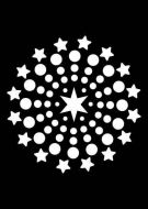 Shooting Stars Mini Stencil - Creative Expressions