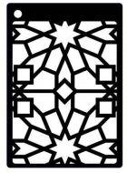 Sparkle Star Mini Stencil - Creative Expressions