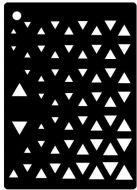 Triangles Mini Stencil - Creative Expressions