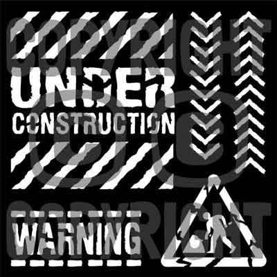"""Under Construction 6"""" x 6"""" Mask - That Special Touch"""
