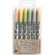 Tim Holtz Distress Crayon Set Number 8