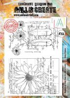No. 266 Daisy Elegance Aall and Create A4 Stamp