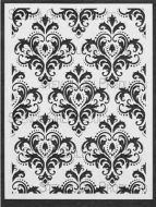 Damask Medium Stencil designed by Michelle Ward for Stencil Girl (9 inch by 12 inch)