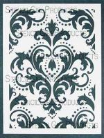 Damask Stencil designed by Michelle Ward for Stencil Girl (9 inch by 12 inch)