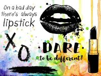 Dare To Be Different Visible Image Clear Stamp Set