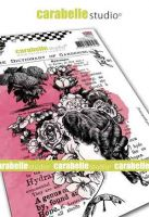 Dictionary of gardening Cling Stamp A6 for Carabelle Studio by Jen Bishop (sa60511e)
