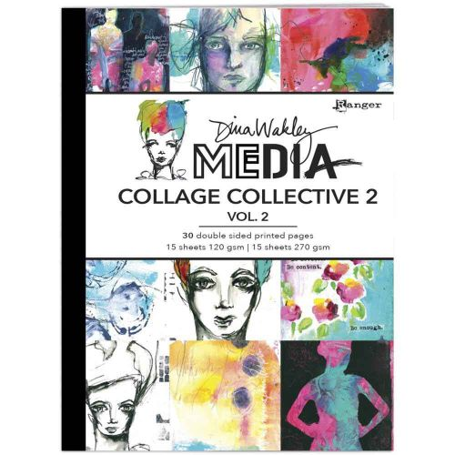 Dina Wakley Media Mixed Media Collage Collective 2 - Volume 2 (UK ONLY)
