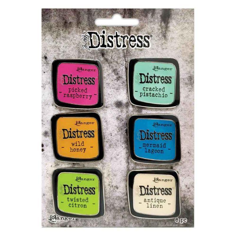 Distress Pin Collection