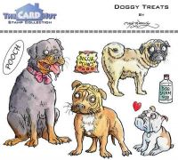 Doggy Treats a6 clear stamp set from Card Hut