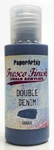Double Denim (Seth Apter) Fresco Finish PaperArtsy Paint