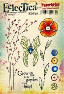 PaperArtsy Darcy EDY19 A5 Rubber Stamps