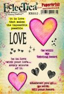 PaperArtsy Emma Godfrey 13 A5 Rubber Stamps