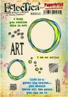 PaperArtsy Emma Godfrey 15 A5 Rubber Stamps