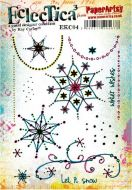 PaperArtsy - Kay Carley EKC04 - A5 Cling Rubber Stamp Set