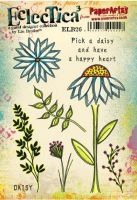 PaperArtsy Lin Brown 26 A5 Rubber Stamps