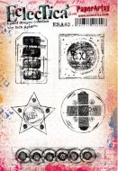 Seth Apter ESA03 A5 Cling Rubber Stamp Set