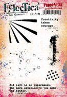 Sara Naumann PaperArtsy A5 Cling Rubber Stamp Set 09 - ESN09