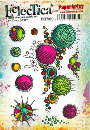 Tracy Scott ETS02 - A5 Cling Rubber Stamp Set