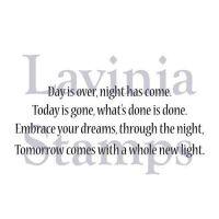 Embrace Your Dreams Lavinia Stamps (LAV376)