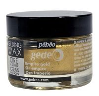 Empire Gold Gilding Wax (UK ONLY) by Pebeo Gedeo(30ml)