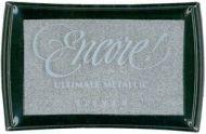 Encore Ultimate Metallic Silver Ink Pad