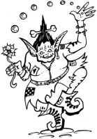 Crafty Stamps - Troll - FA108HF