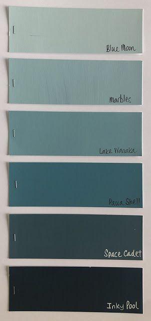 Family 3 -  Grey-Green Blues