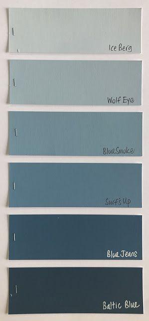Family 4  - Grey Blues