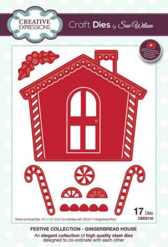 Festive Collection Gingerbread House (CED3116)