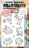 No. 346 For the Birds Aall and Create A6 Stamp