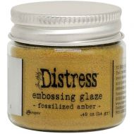 Fossilized Amber Tim Holtz Distress Embossing Glaze TDE70986