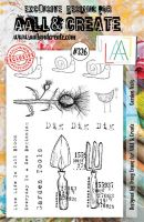 No. 326 Garden Tools Aall and Create A5 Stamp