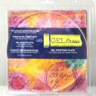 Gel Press Gel Plate 8 inch circle