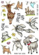 CS245D Hobby Art Stamps - Get Your Goat