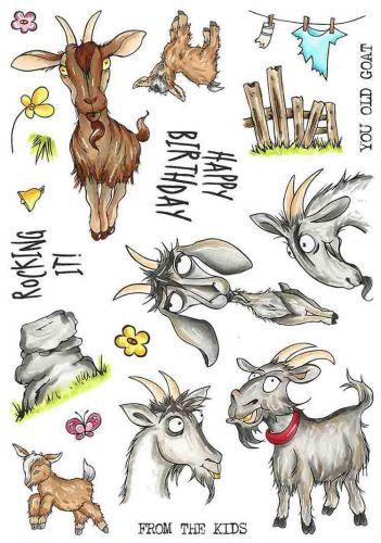 CS245D Hobby Art Stamps - Get Your Goat