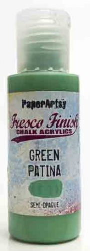 Green Patina (Seth Apter) Fresco Finish PaperArtsy Paint