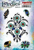 E Gwen Lafleur Paperartsy A5 Cling Rubber Stamp Set (EGL11)