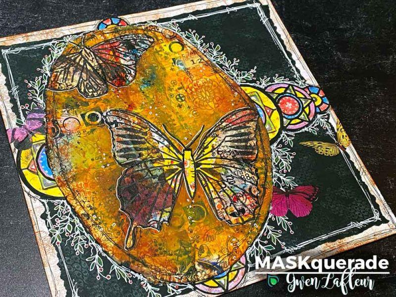 Gwen Lafleur Online Class - MASKquerade 24 October