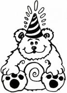 Crafty Stamps - Bear - HB102HF