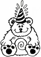 Crafty Stamps - Bear - HB102HF